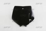 Přední číslová tabulka KTM-001-černá