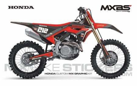 Design 226 - Honda CRF R 450  2021 - 2021, Honda CRF R 250  2008 - 2009