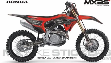 Design 198 - Honda CRF R 450  2021 - 2021