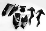 Sada plastů KTM SX- SXF  2016-2017-001-černá