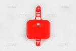 Přední číslová tabulka CRF 50-070-červená Honda