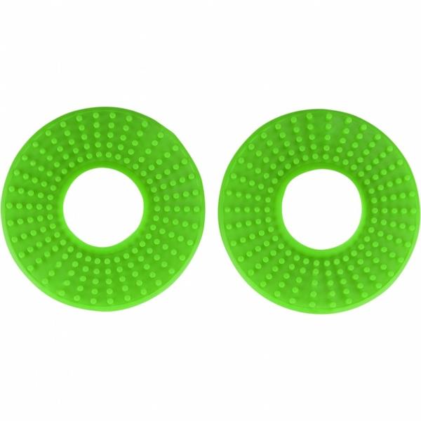Kroužky gumové k ručkám řídítek  pár-026-zelená KX org.