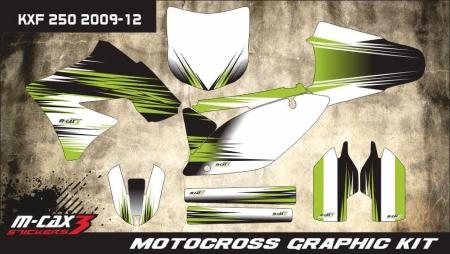 Design 4 - Kawasaki KXF 250  2009 - 2012