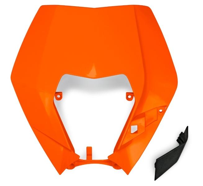 Plast pro OEM masku se světlem EXC 2009-2013-127-oranžová (03-)