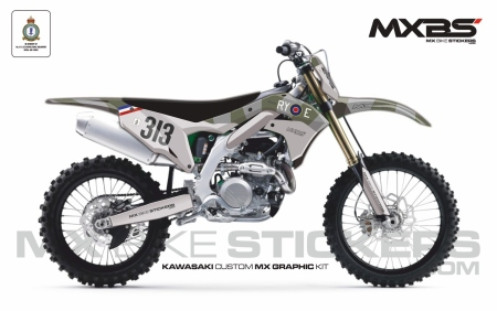 Design 169 - Kawasaki KXF 450  2019 - 2021