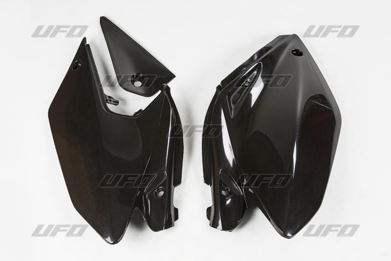 Bočnice  CRF 250X 04-07-001-černá