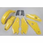 Sada plastů HVA 2T 00-03 (žlutá)-999-OEM standartní barvy