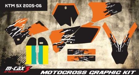 Design 30 - KTM SX 125  2005 - 2006, KTM SX 250  2005 - 2006, KTM SX F 450  2005 - 2006, KTM SX F 250  2005 - 2006