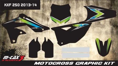 Design 1 - Kawasaki KXF 250  2013 - 2016