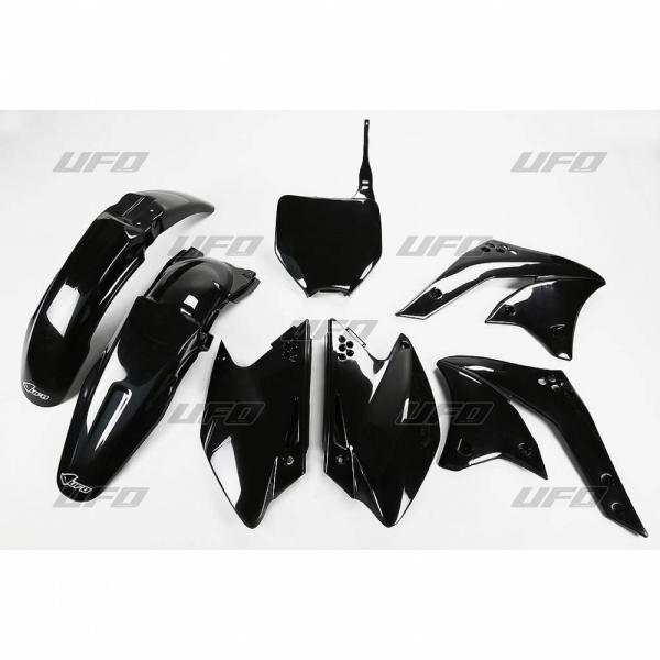 Sada plastů UFO KXF 250 2008-001-černá