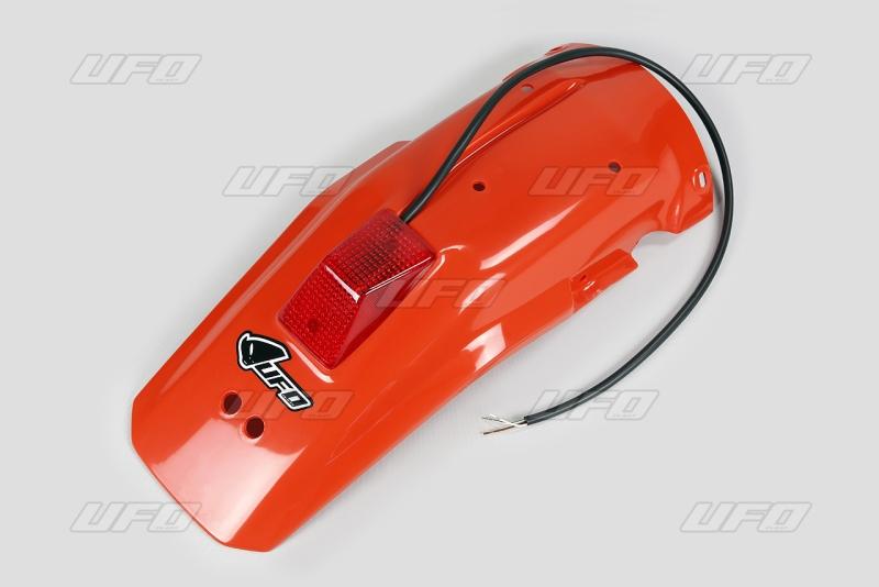Zadní blatník se světlem-121-červená CR90