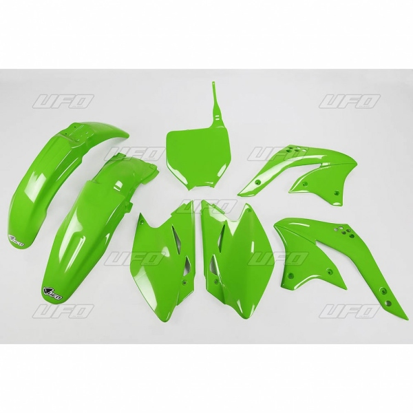 Sada plastů UFO KXF 450 2008-026-zelená KX org.