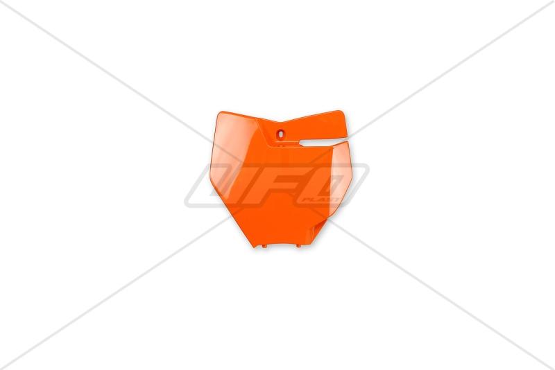 Přední číslová tabulka KTM SX-SXF 2016-127-oranžová (03-)