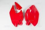 Bočnice  CRF 250X 04-07-070-červená Honda
