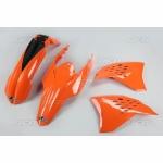 Sada plastů KTM EXC 2009-2010-127-oranžová (03-)