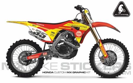 Design 65 - Honda CRF R 450  2017 - 2019, Honda CRF R 250  2018 - 2019