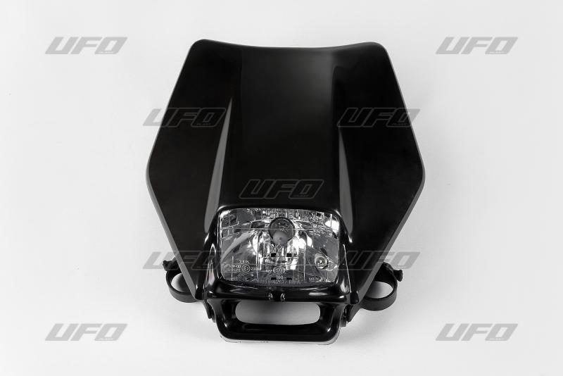 Maska se světlem 12V halogen-001-černá