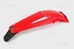 Zadní blatník enduro se světlem-070-červená Honda
