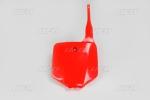 Číslová tabulka KX 65-070-červená Honda