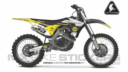 Design 64 - Honda CRF R 450  2017 - 2019, Honda CRF R 250  2018 - 2019