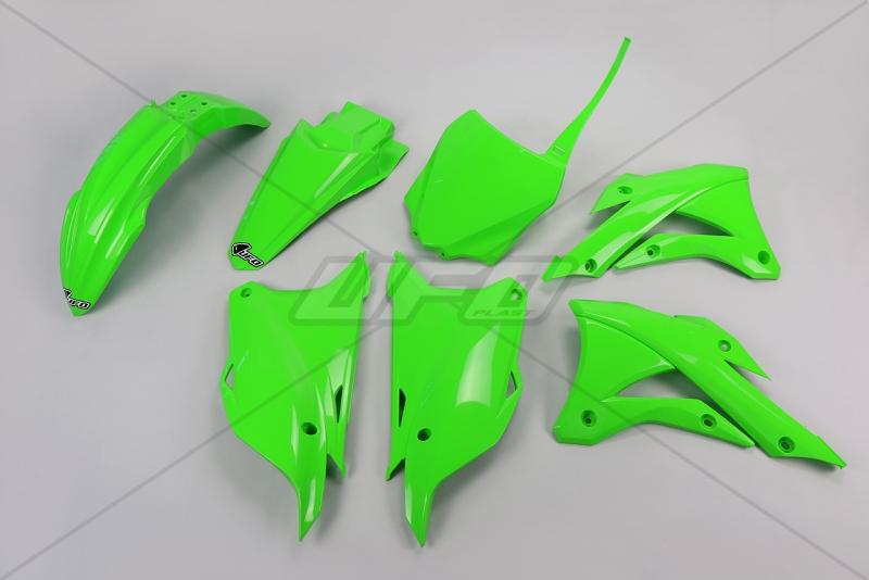 Sada plastů UFO KX 85 2014-2016-026-zelená KX org.