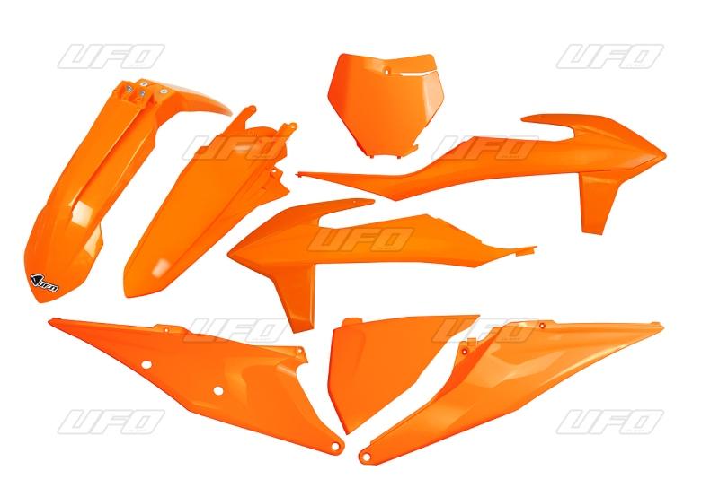 Sada plastů KTM SX- SXF 2019-127-oranžová (03-)