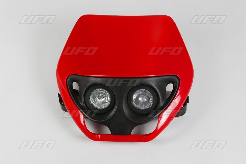 Maska se světlem CRE-067-červená CR 92-97
