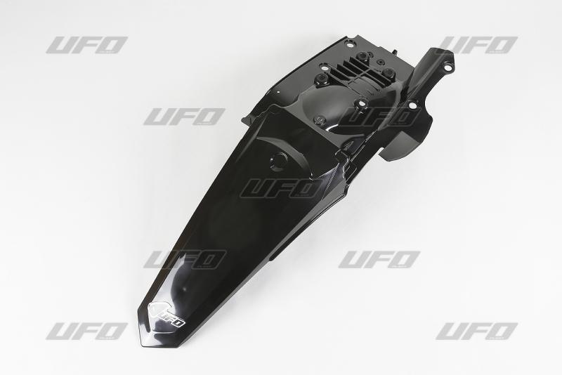Zadní blatník enduro s LED světlem WR250 15-16 WR450 16-001-černá