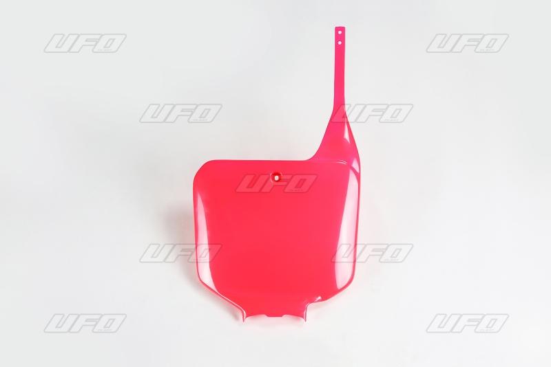 Přední číslová tabulka-067-červená CR 92-97