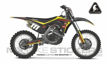 Design 103 - Honda CRF R 450  2017 - 2019, Honda CRF R 250  2018 - 2019