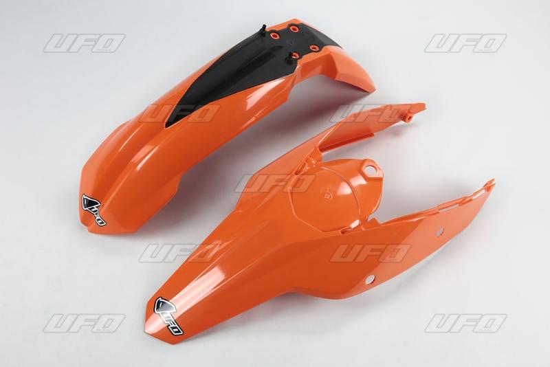 Sada blatníků KTM EXC 2011-127-oranžová (03-)
