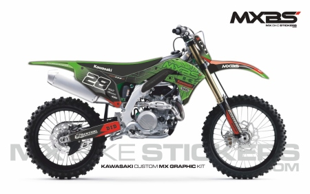 Design 190 - Kawasaki KXF 450  2019 - 2021