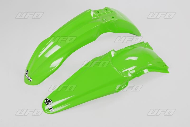 Sada blatníků KXF 250 2013-026-zelená KX org.