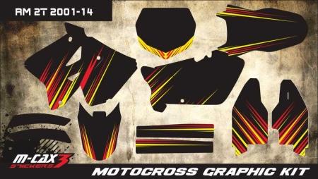 Design 22 - Suzuki RM 125  2001 - 2012, Suzuki RM 250  2001 - 2012