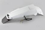 Zadní blatník s LED světlem-041-bílá