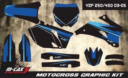 Design 40 - Yamaha YZF 250  2006 - 2009, Yamaha YZF 450  2006 - 2009