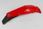 Zadní blatník enduro-070-červená Honda