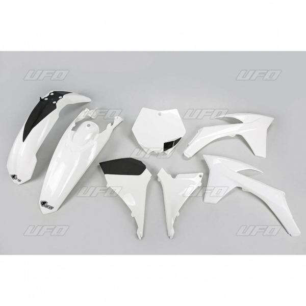 Sada plastů KTM SXF 2011-047-bílá KX