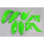 Sada plastů UFO KXF 250 2014-2016-026-zelená KX org.