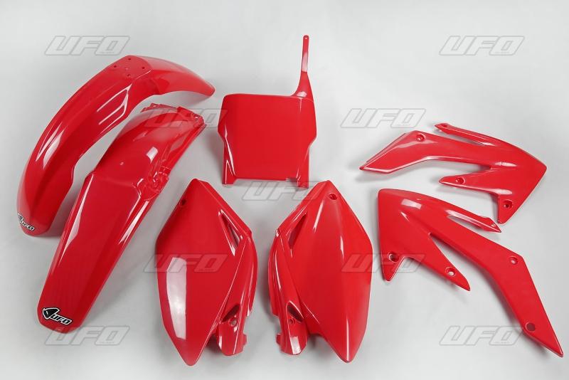 Sada plastů UFO CRF 250 2004-05-070-červená Honda