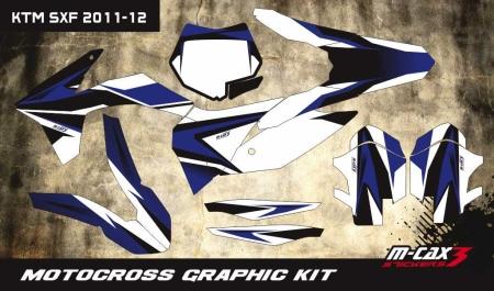 Design 25 - KTM SX 125  2011 - 2012, KTM SX 250  2011 - 2012, KTM SX F 250  2011 - 2012, KTM SX F 350  2011 - 2012, KTM SX F 450  2011 - 2012, KTM SX F 525  2011 - 2012