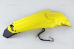 Zadní blatník enduro se světlem-102-žlutá RM 02-